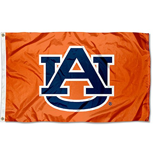 - College Flags and Banners Co. Auburn Tigers AU Orange Flag