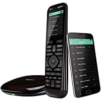 Logitech Harmony Elite Universal Remote Control (Black) - Manufacturer Refurbished