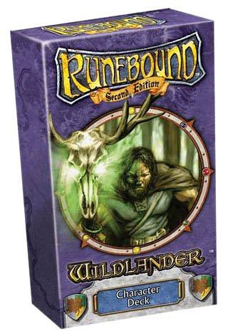 Fantasy Flight Games VA24 - Runebound: Wildlander Deck, englische Ausgabe