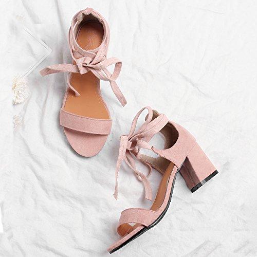 sintetico AiyoumeiCinturino donna alla caviglia rosa drxBoCe