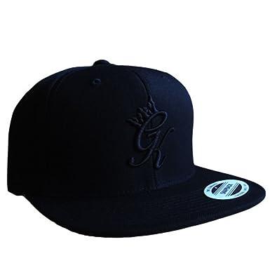 Gym King Signature Snapback Cap - Black One Size Black  Amazon.co.uk ... a5519b49f81