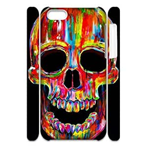 skull 3D-Printed ZLB816410 Customized 3D Phone Case for Iphone 5C by mcsharks