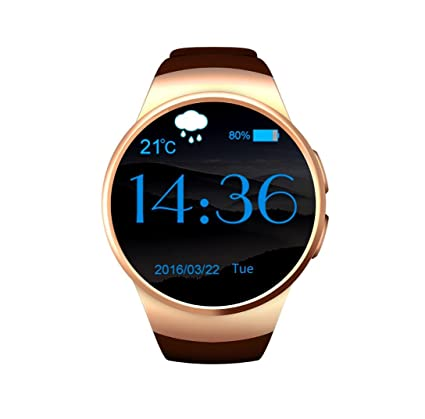Amazon.com : KW18 Bluetooth Smart Watch with Touch Screen ...