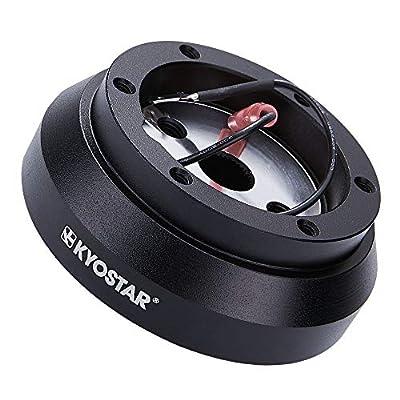 Kyostar 6-Hole Steering Wheel Short Hub Adapter Kit For Mitsubishi Eclipse Lancer Galant Impreza WRX 100H: Automotive