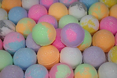 Bath Bomb 12 Lot Assorted Scents by Bumble-Beesss