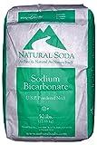 50 lb sodium carbonate - Sodium Bicarbonate [NaHCO3] [CAS_144-55-8] 99+% USP/ FCC Grade, White Powder ( 50 Lbs Bag)