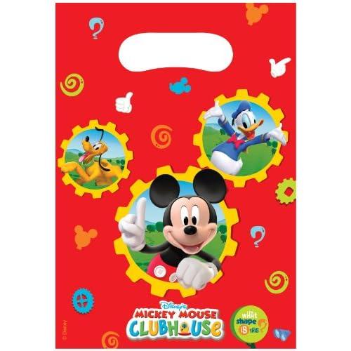 6 Sacs à cadeaux Mickey