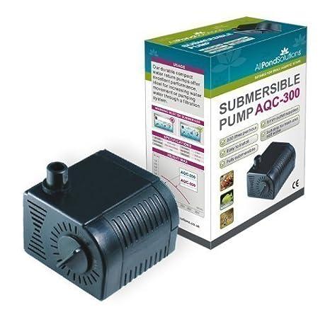 Bomba Sumergible Para Agua De Acuarios 300 Litros por Hora: Amazon.es: Productos para mascotas