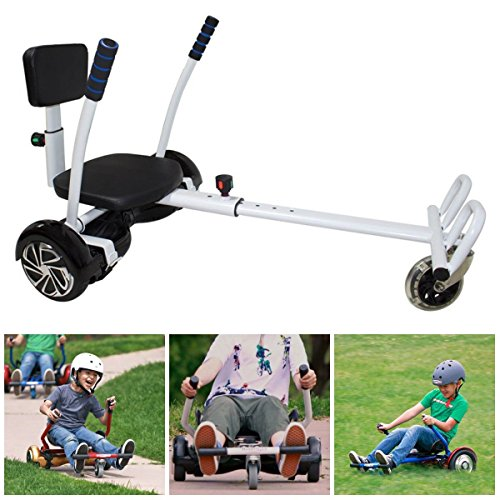 Two Wheels Balancing Scooter Hoverkart Shockproof Seat Kids Adult Christmas Gift