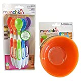 Amazon Price History for:Munchkin 5 Pack Bowl and 6 Pack Spoon Set for baby/toddler