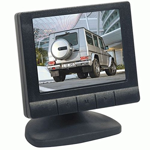 Metra Third Eye 3.5-Inch Color LCD Video Screen (Black) For Sale