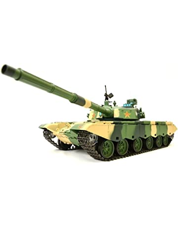 Es-Toys ZtZ 99 1: 16 RC Tank henglong Smoke & Sound + Metal