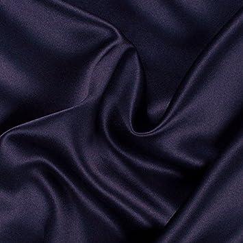 Ghiaccio seta tessuto al metro molti colori elastico larghezza 1, 5m Swag tenda Overlay Baby Blue Clarence Linen