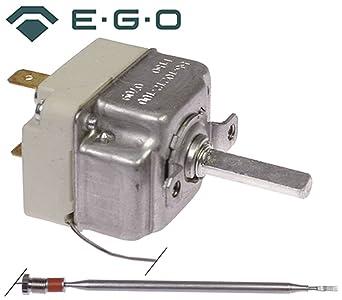Ego Termostato 55.19212.020 Max. Temperatura 95 °C 1 pines Sonda Diámetro 6
