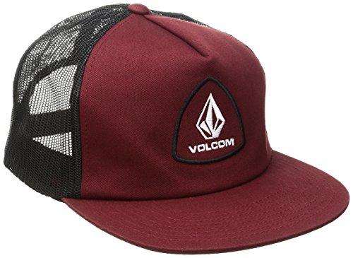 Volcom Straight frwd Chees Tiene Trucker Cap Béisbol Gorro Gorra Rojo Gorra, Vine Red, One Size: Amazon.es: Deportes y aire libre