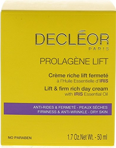 Decleor Decleor Iris (Decleor Prolagene Lift and Firm Rich Day Cream for Dry Skin, 1.7 Fluid Ounce)