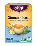 Yogi Tea, Stomach Ease, 16 Count (Pack of 6), Packaging May Vary