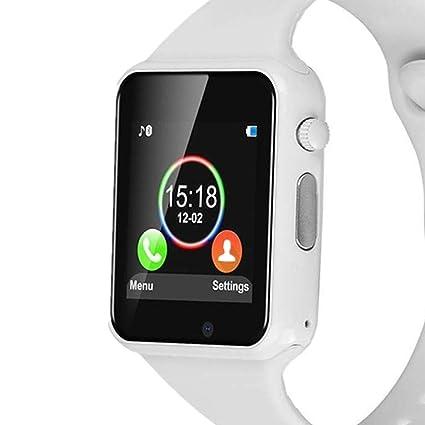 Amazon.com: YIIXIIYN Reloj inteligente con Bluetooth, reloj ...