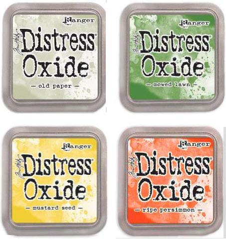 Tim Holtz Ranger Distress Oxide Ink Bundle G - Four 3