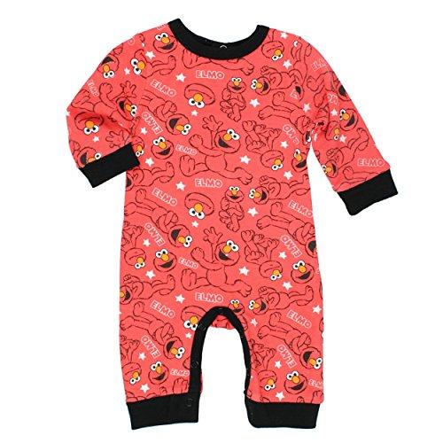 Sesame Street Elmo Coverall Romper