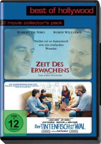 Best of Hollywood - 2 Movie Collectors Pack: Zeit des Erwachens / Der Tintenfisch und ... Alemania DVD: Amazon.es: Robert De Niro, Robin Williams, John Heard, Julie Kavner, Penelope Ann Miller, Judith