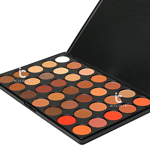 ICYCHEER 35 Color Eyeshadow Makeup Palette Set - High Pigmen