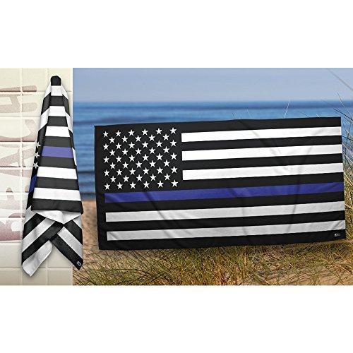 Thin Line Towel - US Flag (Blue) … ()