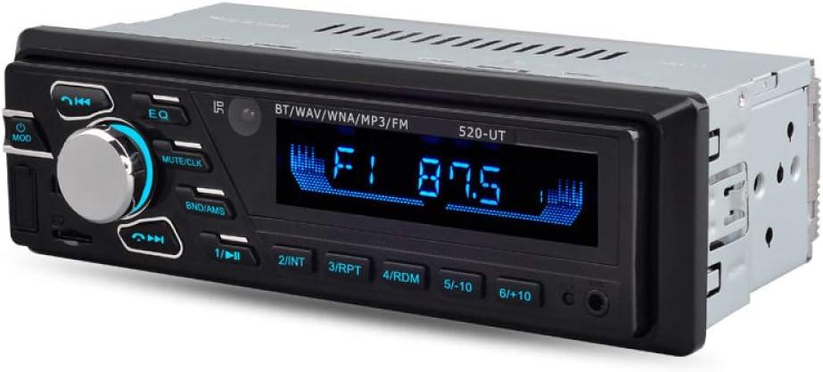 Radio automática 12V / 24V Radio para automóvil/camión Bluetooth Reproductor estéreo para automóvil Interfaz del teléfono MP3 FM/USB/Radio Control Remoto en radios de automóvil 24V