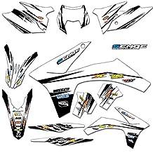 Senge Graphics Early 2001 KTM SX (Has the same plastics as the 2000 SX 250), Velocity White Graphics Kit