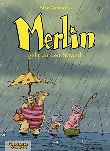 Merlin, Bd.3, Merlin geht an den Strand