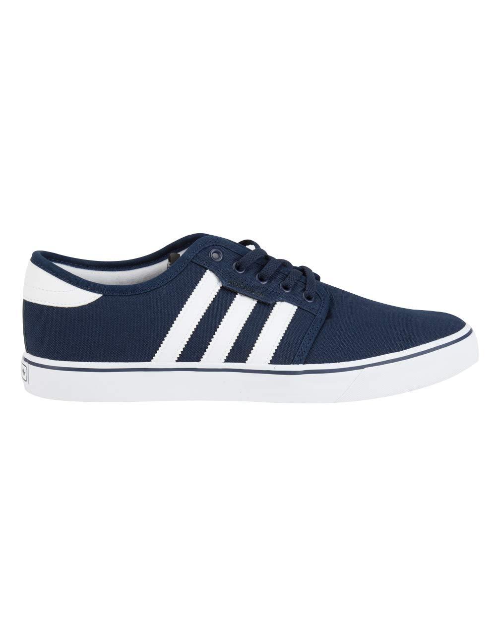 adidas Originals Men's Seeley Running Shoe, Collegiate Navy/White/Blue, 6 M US by adidas Originals
