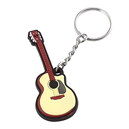 Guitarra folclórica Llavero Llavero de silicona Llavero Tapa ...