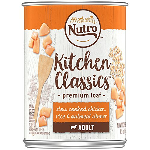 Nutro KITCHEN CLASSICS Adult Canned Wet Dog Food Premium Loa