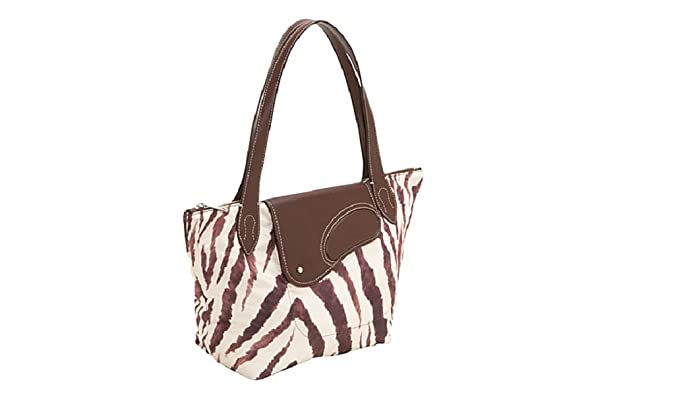 bceccf9943 Ralph Lauren Wooten Zebra Chestnut Tote Shopper bag  Amazon.co.uk  Clothing