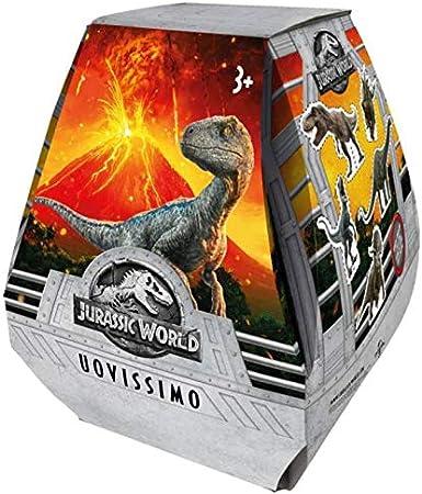Jurassic World-Huevo de Pascua con sorpresa, multicolor, GLJ90 , color/modelo surtido: Amazon.es: Juguetes y juegos