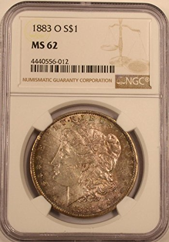 1883 O Morgan Dollar Dollar MS62 NGC