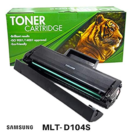Toner Clinic ® Compatible Laser Toner Cartridge for Samsung MLT-D104S 104S Compatible With Samsung ML-1660, ML-1660K, ML-1660N, ML-1661K, ML-1665, ...