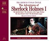 img - for The Adventures of Sherlock Holmes: The Speckled Band, the Adventure of the Copper Beeches, the Stock-Broker's Clerk, the Red-Headed League (Classic Literature with Classical Music) book / textbook / text book