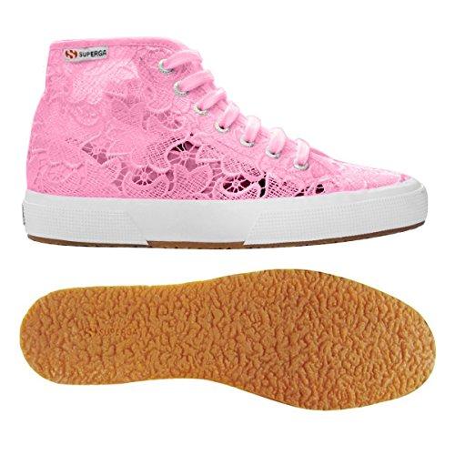 Mujer zapatillas de deporte SUPERGA baja S008B00 negro 2750 FABRICW VANIDAD Begonia Pink
