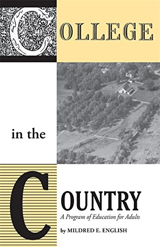 College in the Country: A Program of Education for Adults PDF