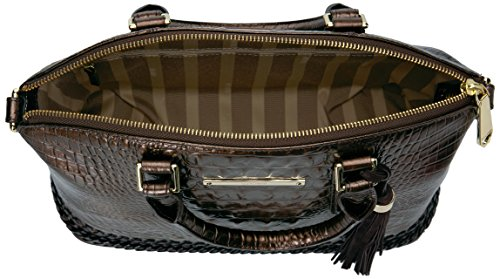Convertible Duxbury Bag Handle Satchel Patina Top Brahmin EwqBUpaFnF