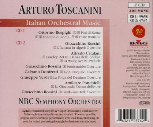 Italian Orchestral Music (Arturo Toscanini Edition, Vol. 10)