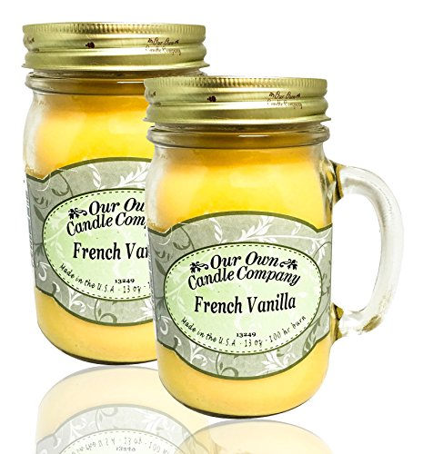 Our Own Candle Company Our Own French Vanilla Scented 13 Oun