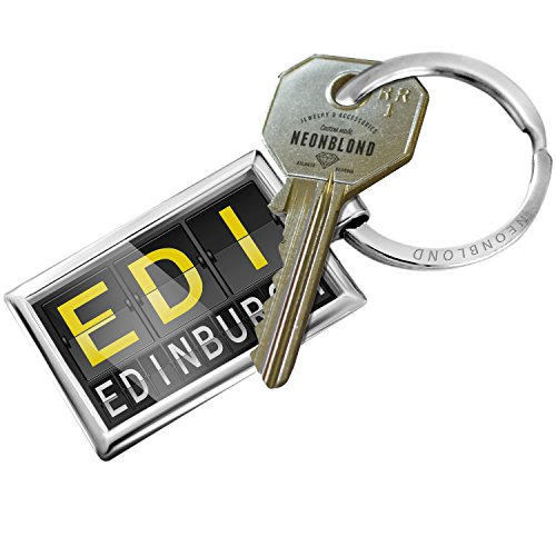 Keychain EDI Airport Code for Edinburgh - (Edinburgh Airport)