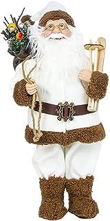 Lsgepavilion tavola di Natale Babbo Natale vetrina bambola ornamento Kids Toy Decor, White, small