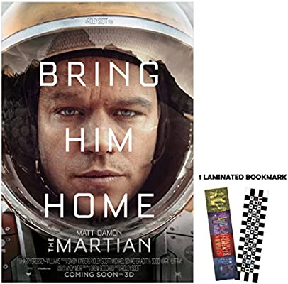 Amazon Com The Martian 2015 Bring Him Home 13 X 19