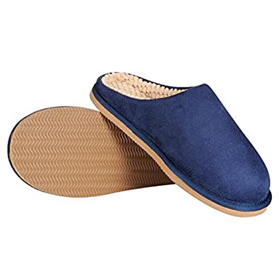 CLPP'LI Womens Comfort House Slippers Blue Size: 5-6