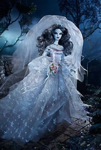 Barbie Haunted Beauty Zombie Bride Gold Label Doll]()