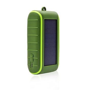 XIHAA Interfaz USB De Carga De Energía Móvil A Mano Solar ...