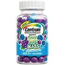 Centrum Kids Flavor Burst Multivitamin Chews, Grape & Blue Raspberry--120 ea - DRU-523723_1